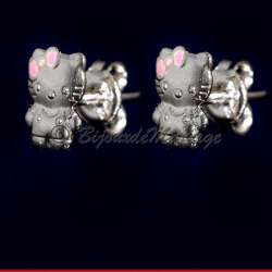 Kitty, boucles d'oreilles allure