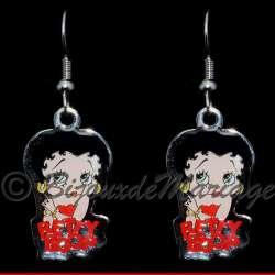 Betty Boop, boucles d'oreilles