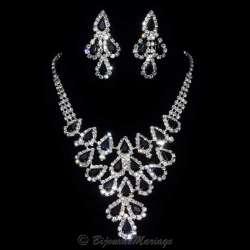 OLYMPE, parure bijoux soirée mariage