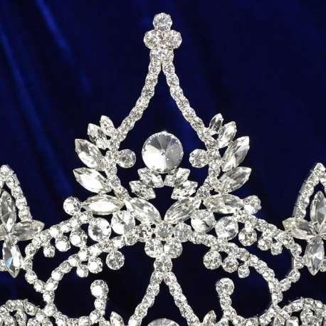Couronne de miss Queen, détail motif haut