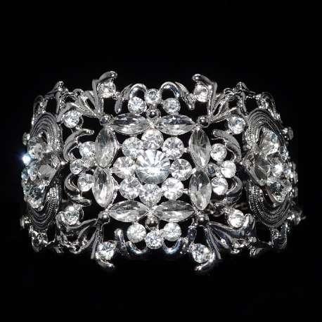Bracelet mariage Diane, motif