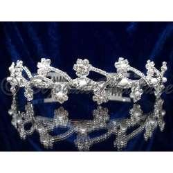 FLEURS, diadème mariage, perles